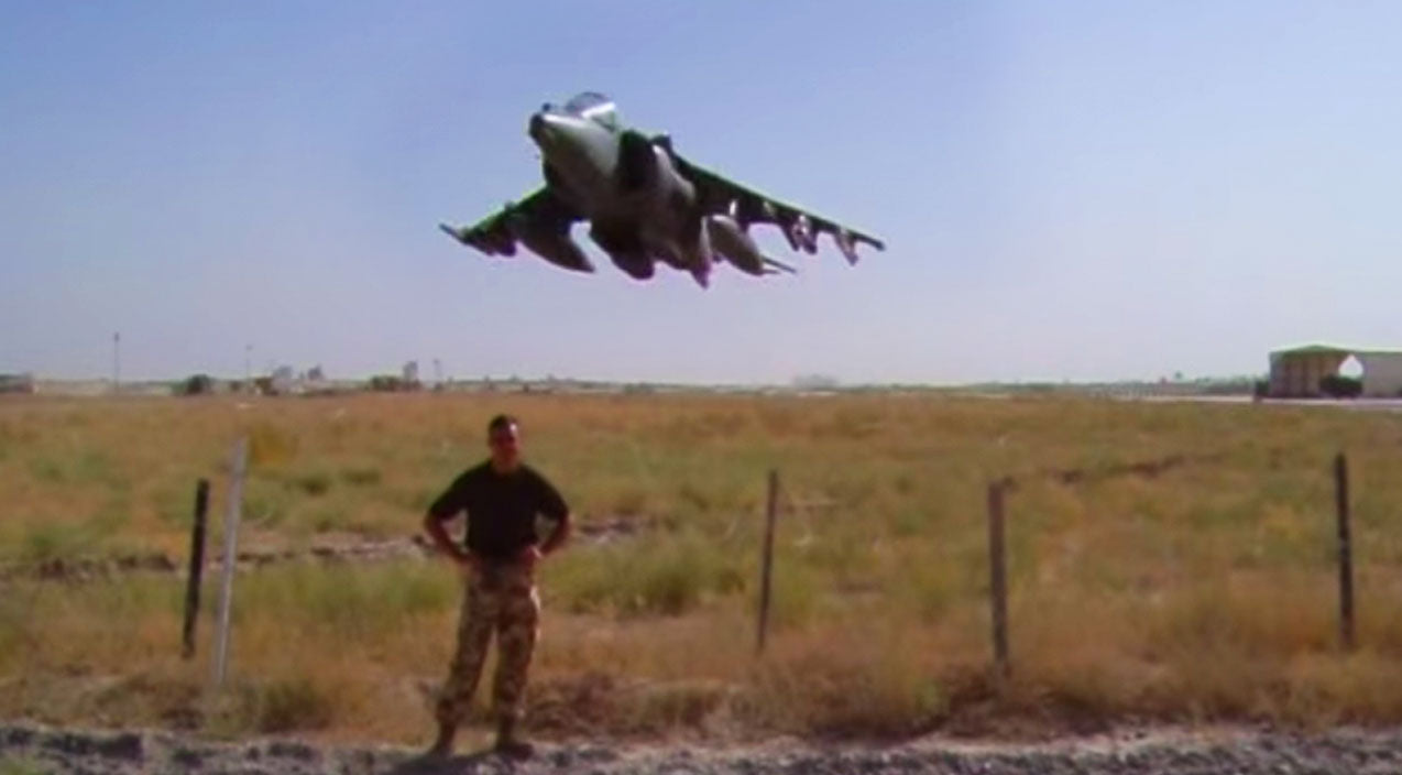 Scare Songs | Tough Guy Says 'I Won't Flinch' Right Before A Harrier Petrifies Him | Frontline Videos