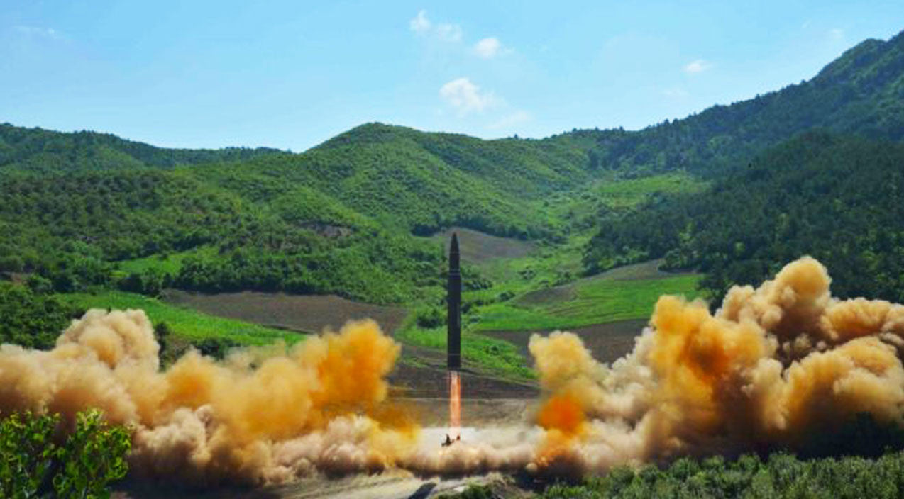 Testing Songs   News   Pentagon Confirms N.Korea Was Messing Around With Missiles Last Night   Frontline Videos