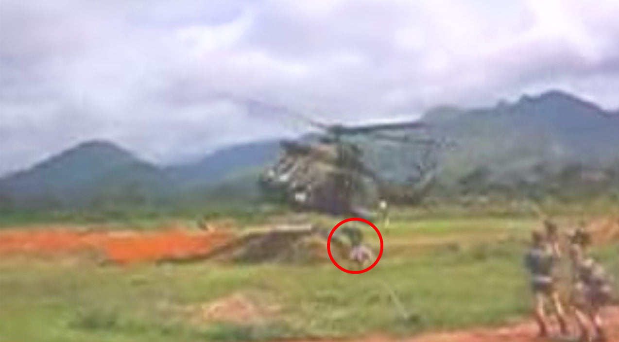 Low Songs | Heli Pilot So Low He Nearly Wiped Out A Grunt | Frontline Videos