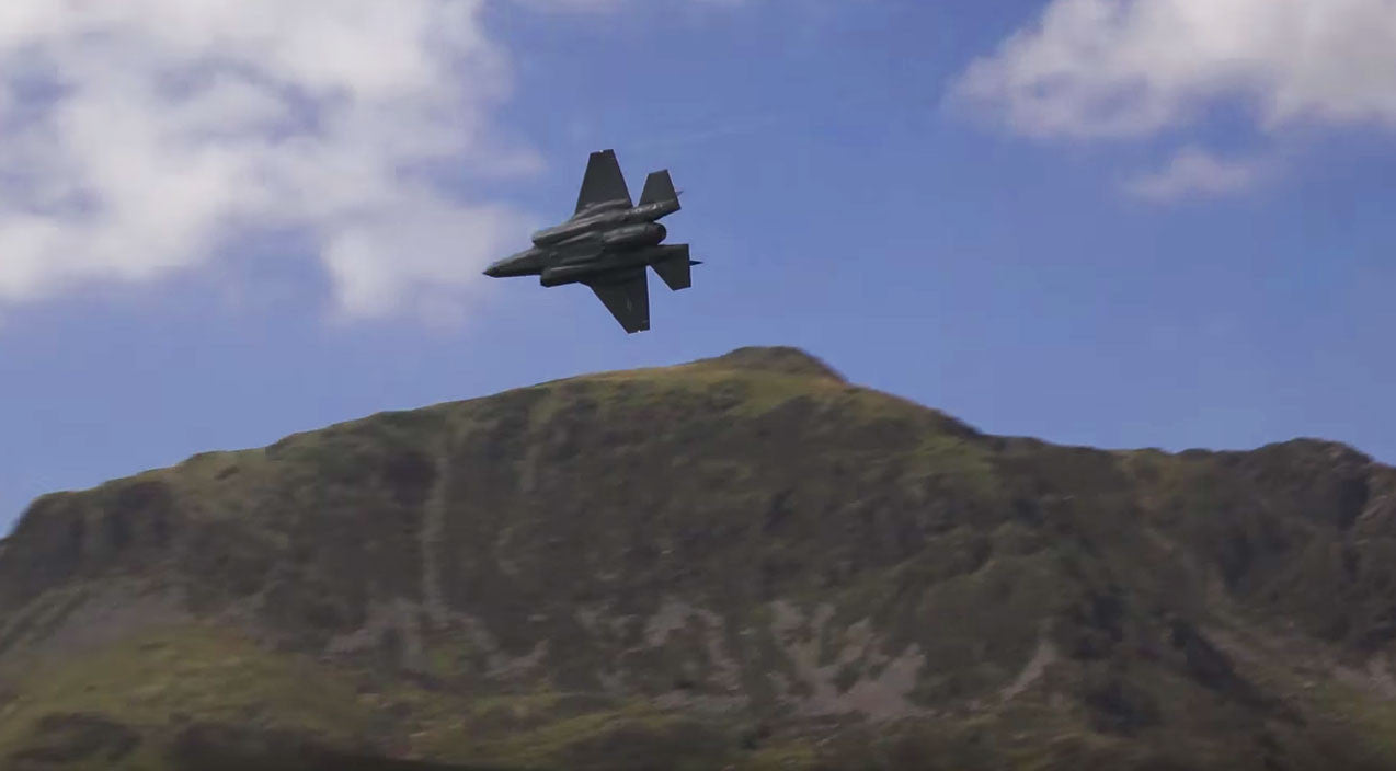 Mach loop Songs | F-35's First Time At The Mach Loop-Multiple Planes, Multiple Screaming Passes | Frontline Videos