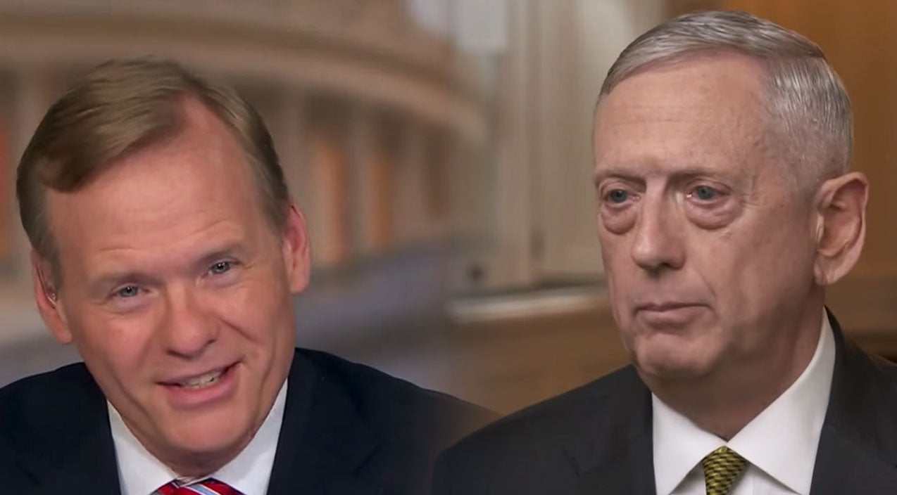 Politics Songs | Mattis Drops A Line During Interview You'll Quote For The Rest Of Your Life | Frontline Videos
