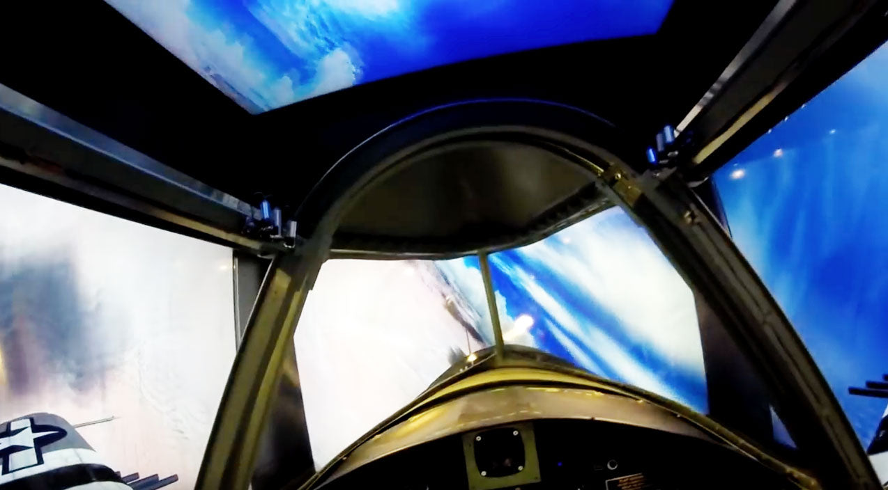Simulator Songs | This Homebuilt P-47 Simulator Is Something You'll Want Immediately | Frontline Videos