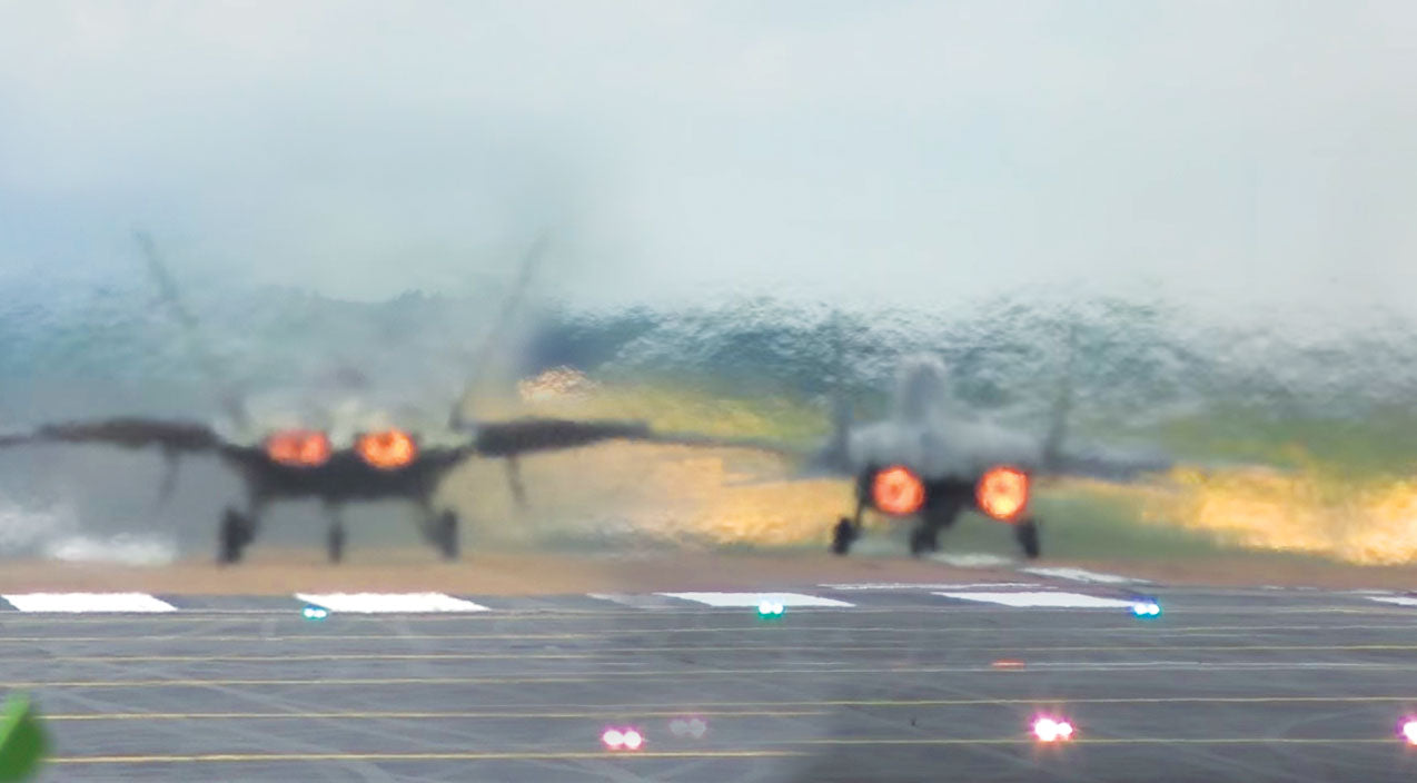 Takeoffs Songs   MiG-29 Vs. F-22 Aggressive Takeoffs--Which Is More Extreme?   Frontline Videos