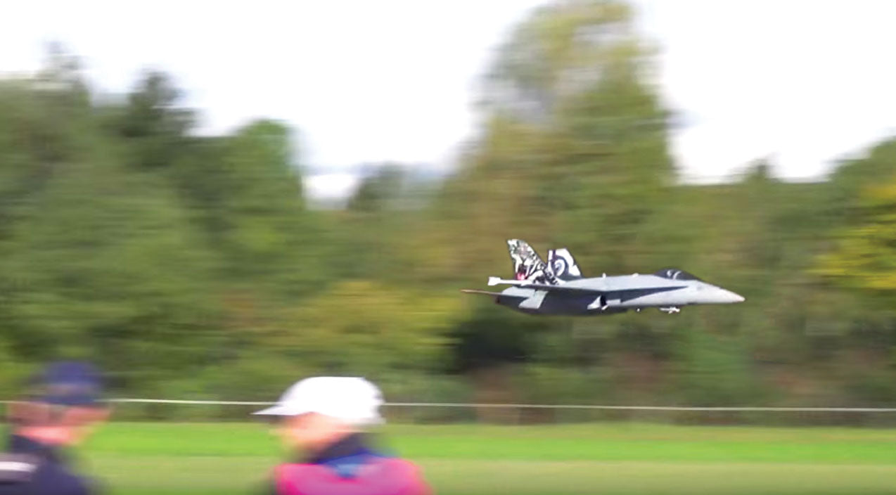 Rc Songs | Guy Builds A Huge Rc F/A-18 And Flies The Smoothest Line Ever | Frontline Videos