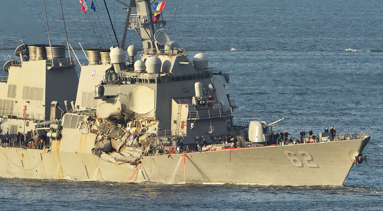 Uss fitzgerald Songs | USS Fitzgerald's Deadly Crash Sees First Evidence On What Happened-Still Doesn't Add Up | Frontline Videos