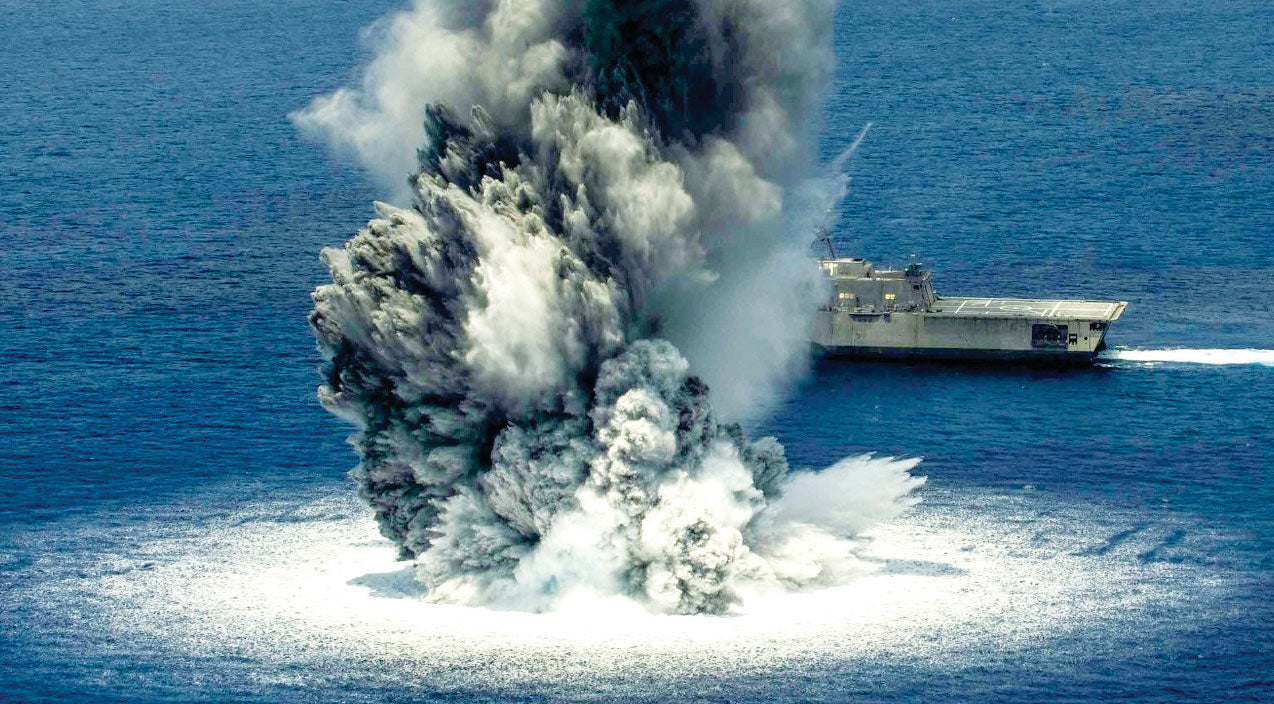 Ship Songs | USN's New Ship Takes On 10,000 Lbs. Of Explosives | Frontline Videos