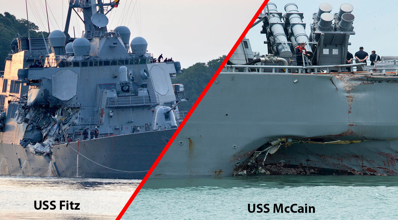 Uss mccain Songs | News | The Unexplained Similarities Between USS McCain And USS Fitzgerald Crashes | Frontline Videos
