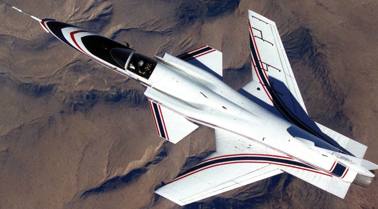 Rare Footage Of An X-29 Actually Flying--But It Was A Bit Hopeful | Frontline Videos