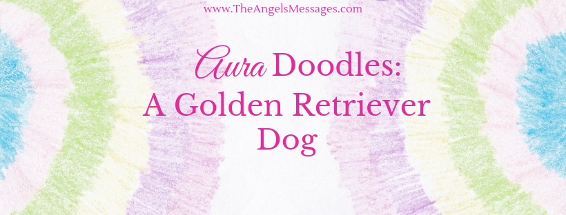 Aura Doodles: A Golden Retriever Dog