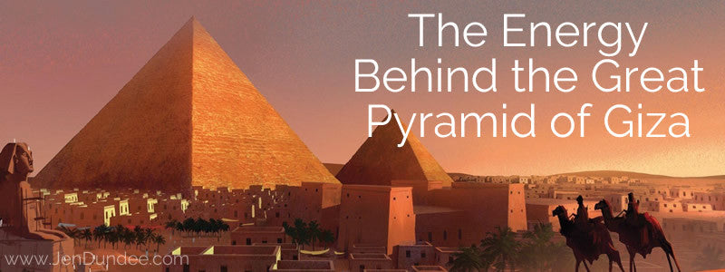 The Energy Behind the Great Pyramid of Giza