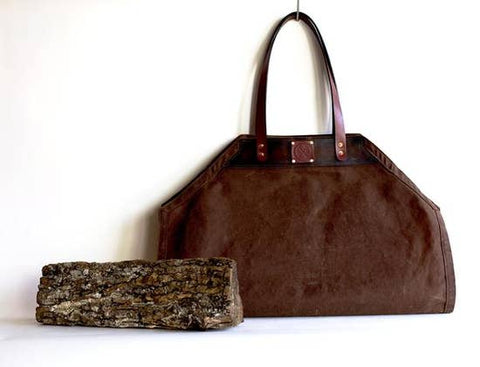 Firewood Carrier- a Holiday & Winter Favorite!