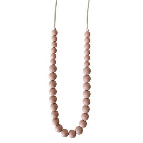 The Ariana - Blush Wooden Teething Necklace