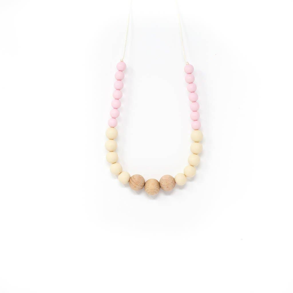 Teething Necklace - Helen Mommy Chewelry