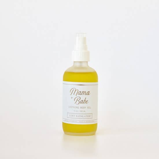 Mama & Babe Soothing Body Oil