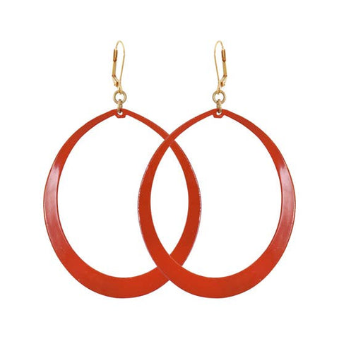 Red Meli Earrings