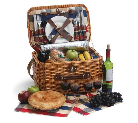 *NEW* Summer Picnic Basket (Insulated)