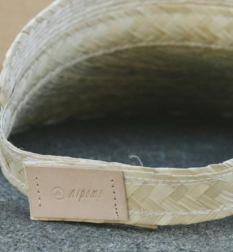 Natural Straw Summer Visor