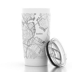 Boston Map Insulated Mug