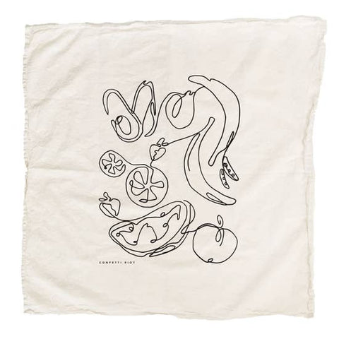 Fruits & Veg Dish Towel