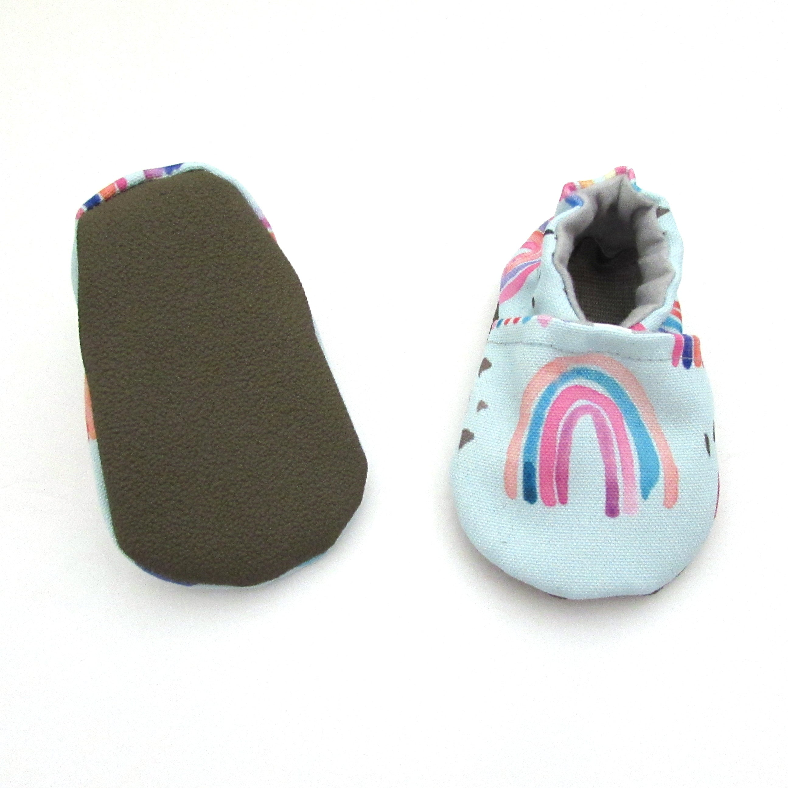 Rainbow Baby Eco-Canvas Shoes