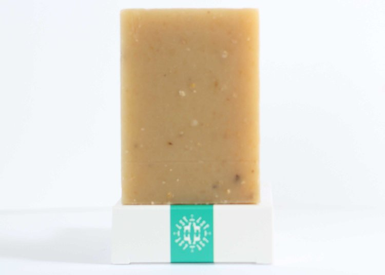 Rosemary Mint Scrub Goat Milk Soap Bar