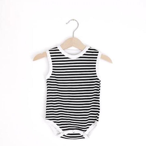 Striped Tank Baby Onesie