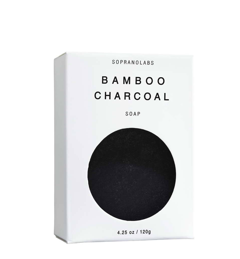 Handmade Bamboo Charcoal Vegan Soap