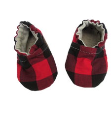 Red Plaid Booties - A Gift That Gives Back!