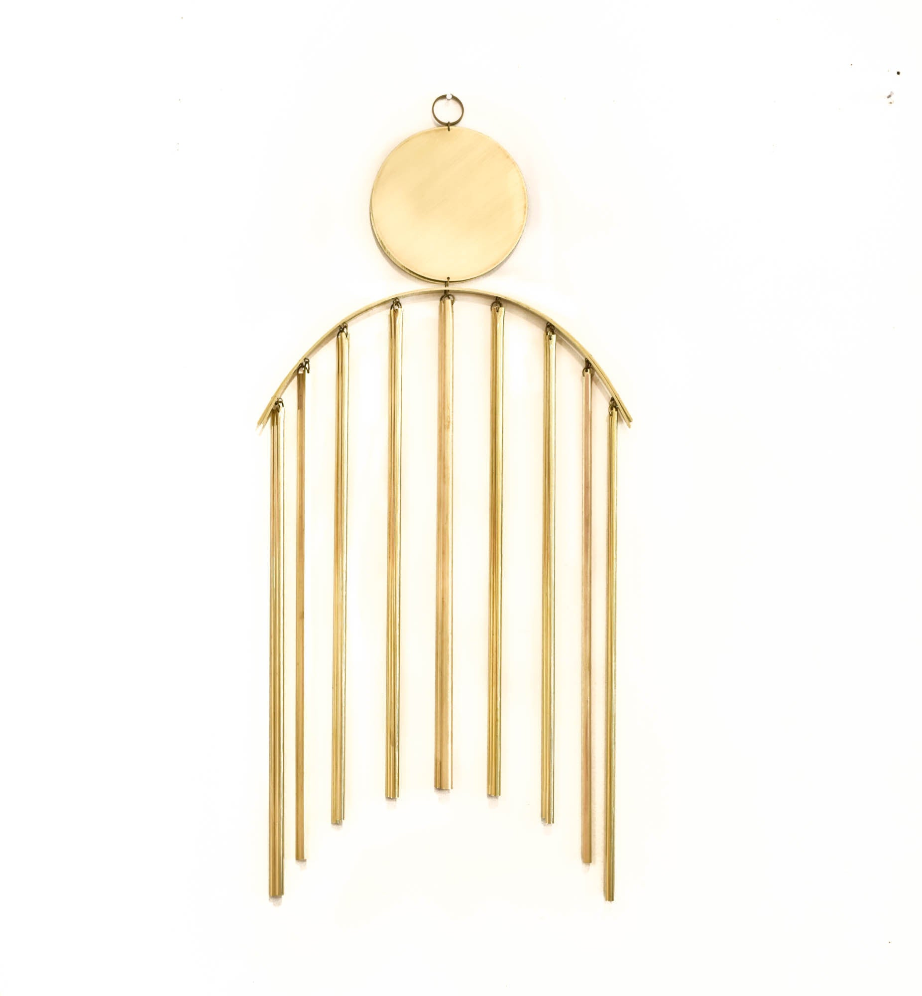 Moon Beam Brass Wall Hanging
