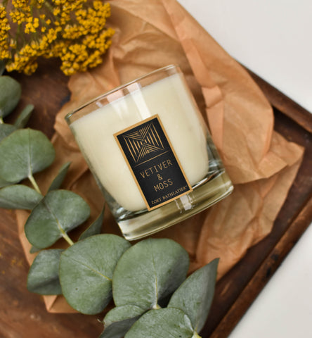 Vetiver & Moss Hand-Poured Candle