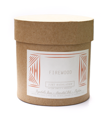 Firewood Hand-Poured Candle