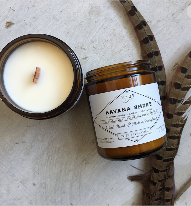 Havana Smoke Hand-Poured Candle