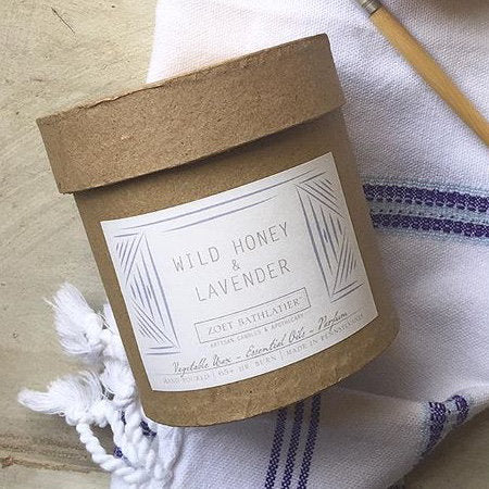 Wild Honey & Lavendar Candle