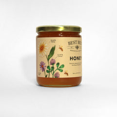 Best Bees Raw Honey Jars