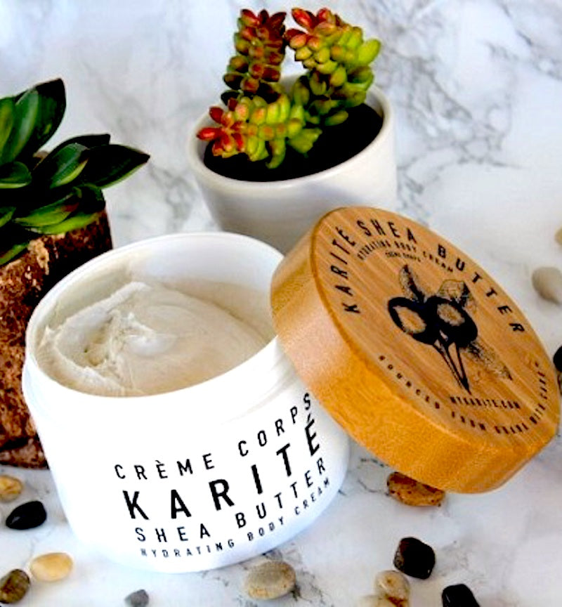 100% Shea Butter Creme - an Olives & Grace favorite!