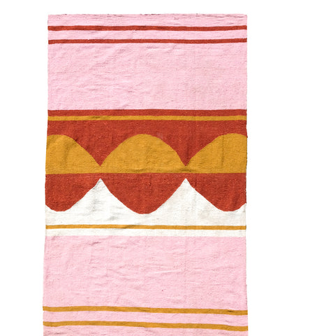 Luna Rosa Travel Blanket