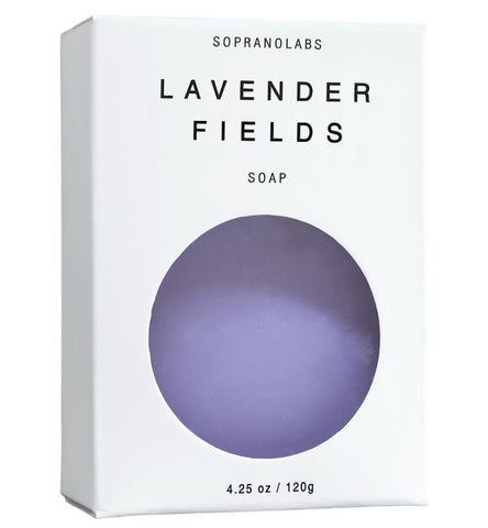 Handmade Lavender Fields Vegan Soap