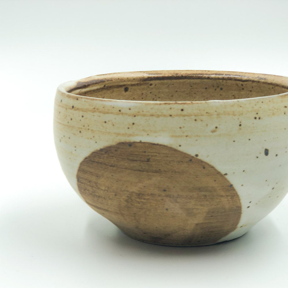 Tan Ceramic Bowl