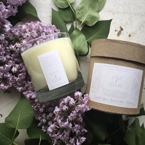 Lily & Lilac Hand-Poured Candle