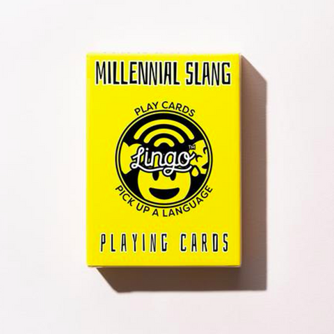 Millennial Slang Deck of Cards