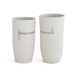 """Fuuuck""  The 2020 Ceramic Tumbler (single listing)"