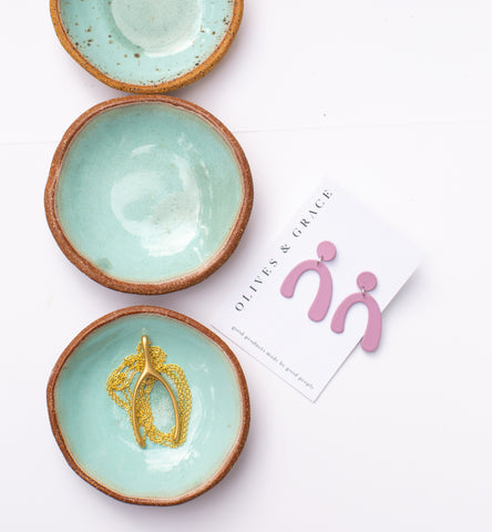 Speckled Ceramic Mini Dish