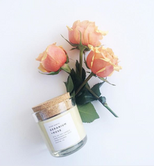 Geranium & Rose Candle