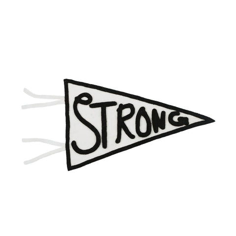 Felt Strong Banner - A Gift That Gives Back!