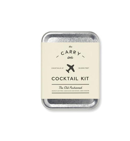 Old Fashioned Carry-On Cocktail Kit