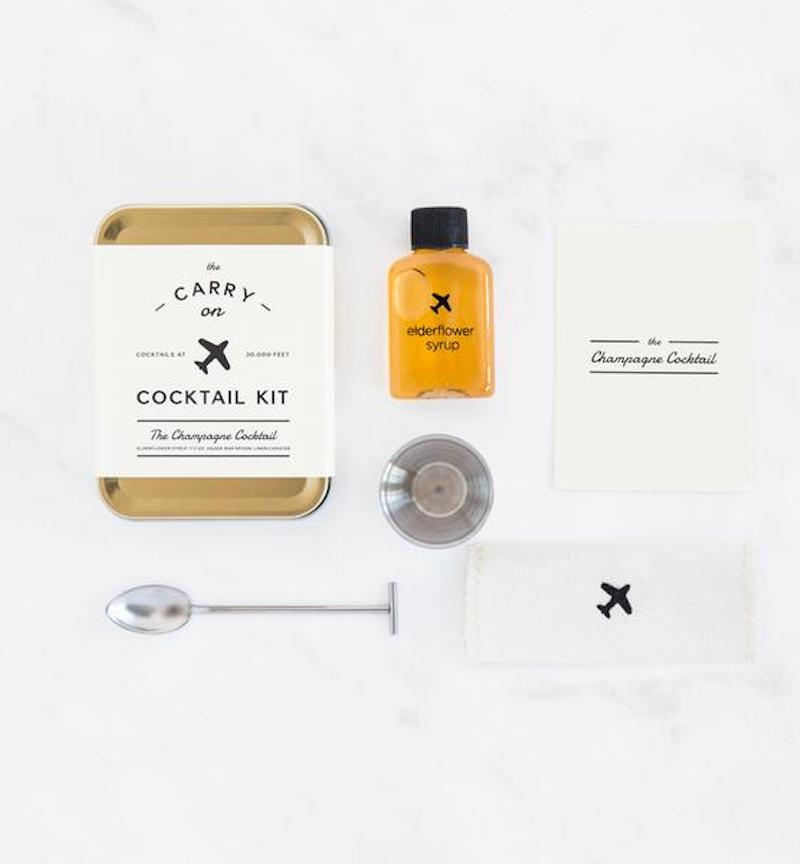 Champagne Carry-On Cocktail Kit