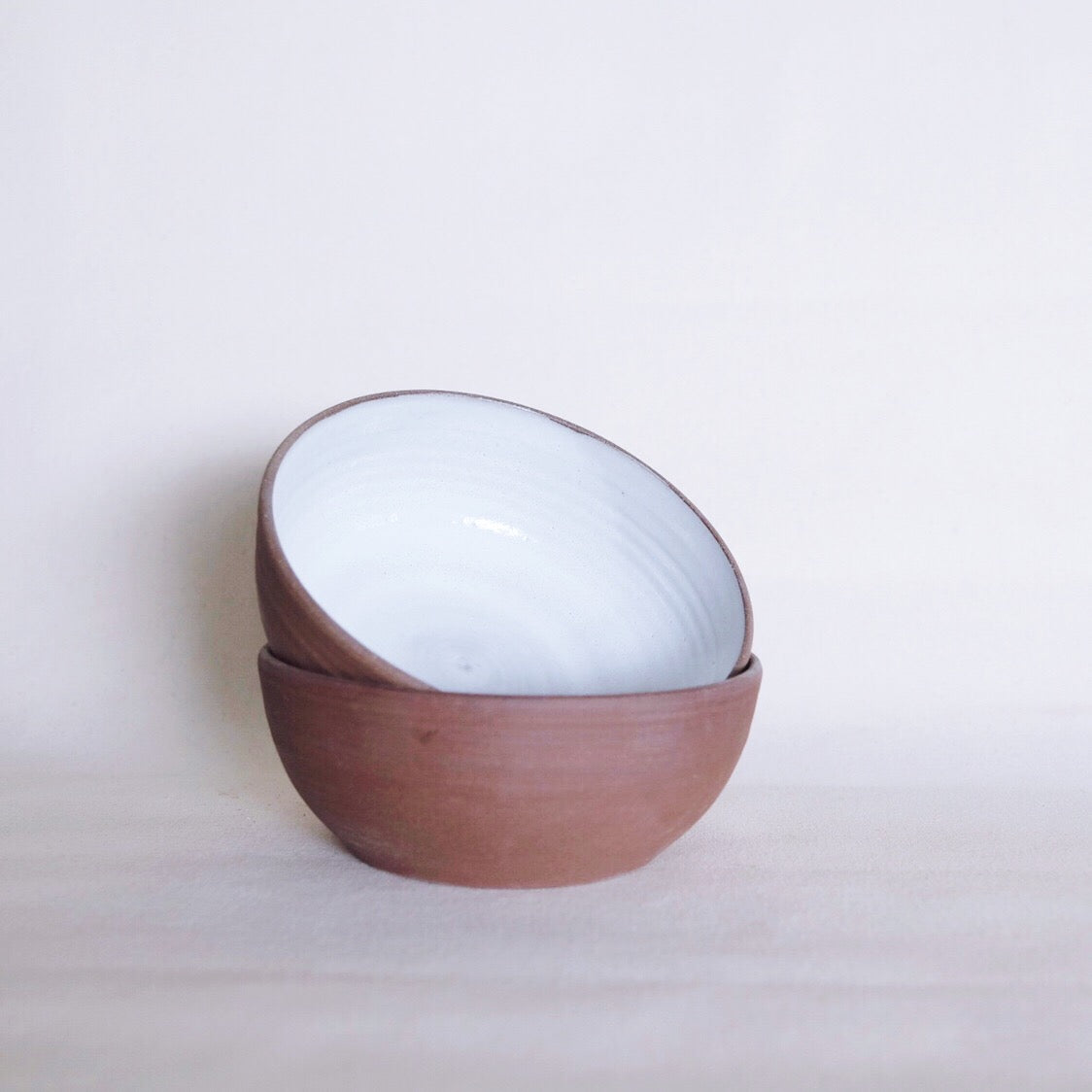 Red Stone Soup Bowl 7""