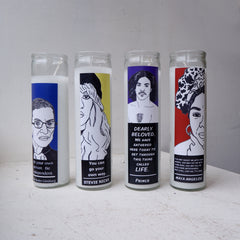 Ruth Bader Ginsburg  Prayer Candle - NOTORIOUS RBG