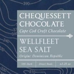 Wellfleet Sea Salt Dark Chocolate Bar