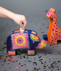 Ethically Made Elephant Bank - A Gift That Gives Back